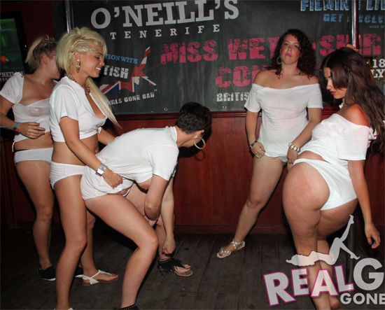 Real Girls Gone Bad Wet T-shirt Contest