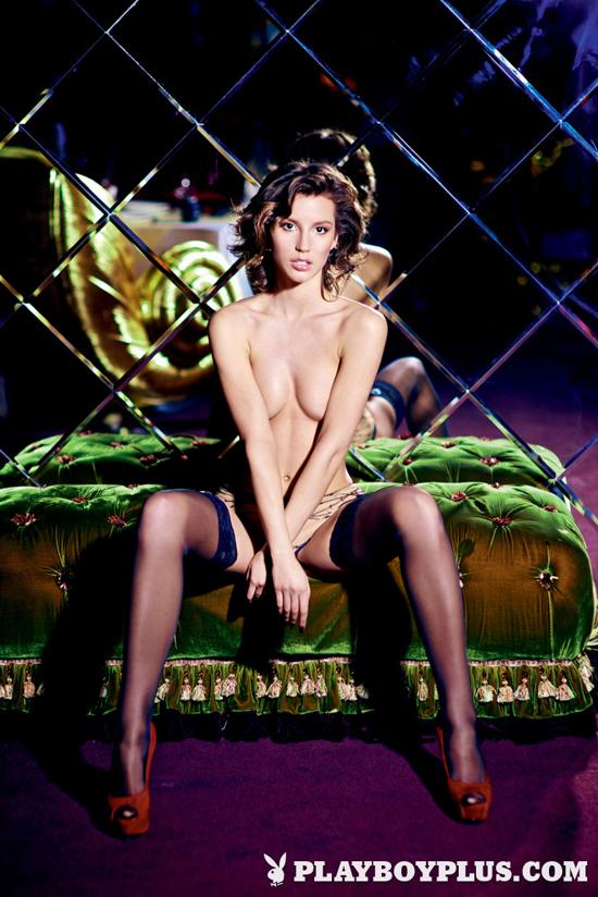 Russian Beauty Julia Popova poses for Playboy