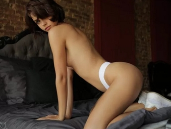 NatellaQ on StasyQ in white panties