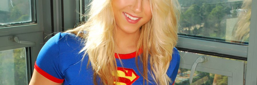 Supergirl Strip Tease